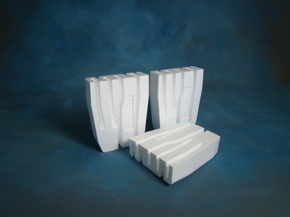 Polycore concrete block insulation inserts foam concepts Cement foam blocks
